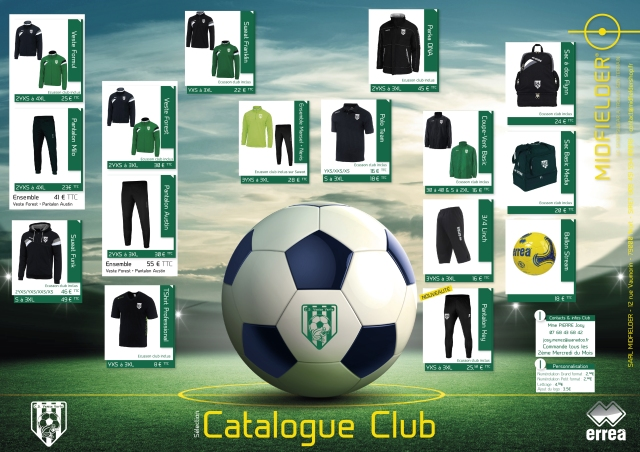 catalogue club VENISE VERTE 2016