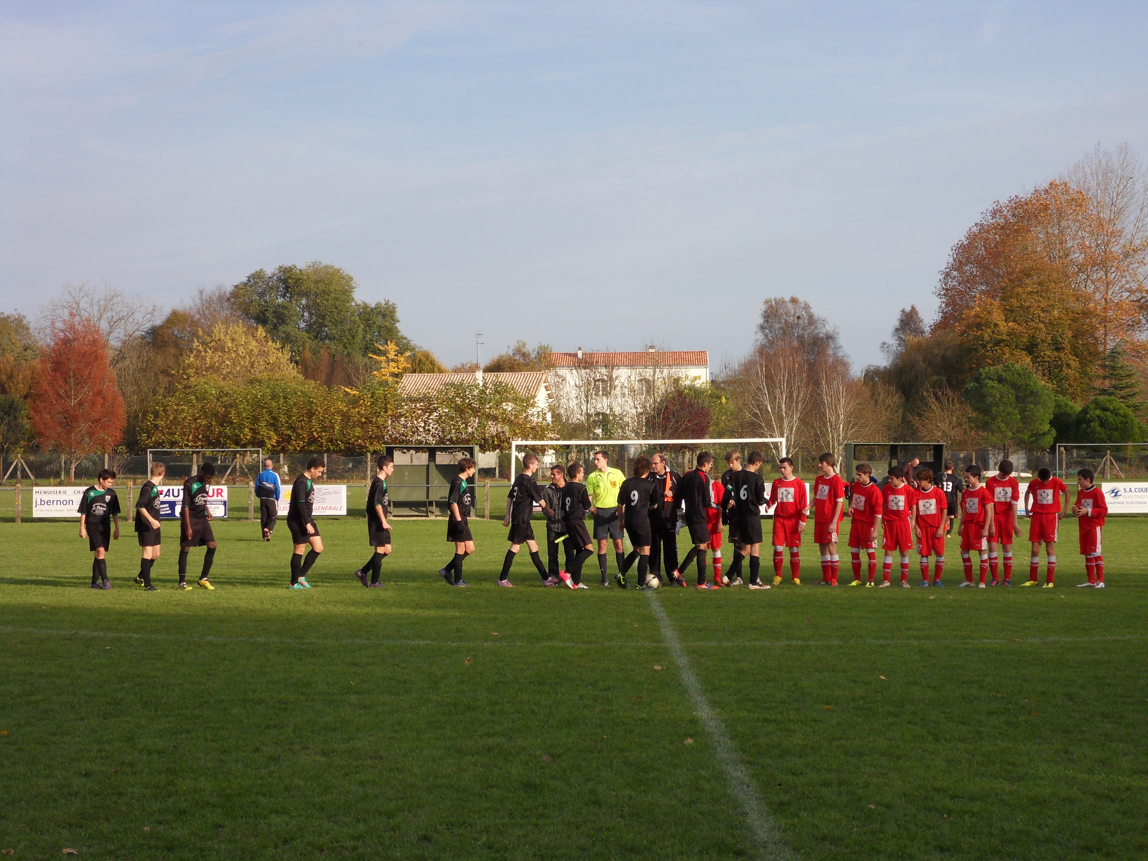 U18 – Venise verte AiffresVouillé une belle victoire 5  ~ La Faim Fait Sortir Le Loup Du Bois