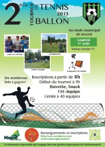 Affiche tennis-ballon 2013